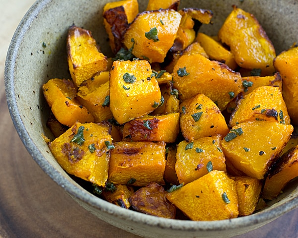 Roasted Ambercup Squash with Brown Butter