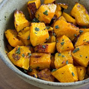 Roasted Ambercup Squash with Brown Butter Recipe