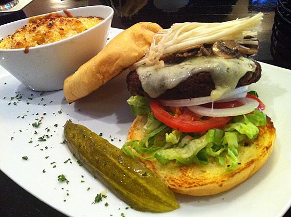 Tribeca Tavern Veggie Burger