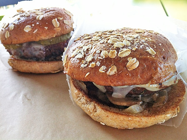 BurgerFi Quinoa Burgers