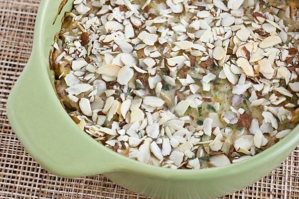 Seitan, Mushroom & Wild Rice Casserole
