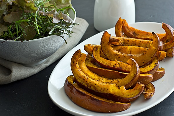 Roasted Pumpkin & Mozzarella Salad