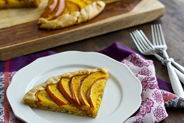 Savory Pumpkin Galette