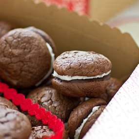 Grasshopper Brownie Cookies Recipe