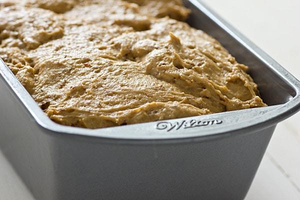 Bread Rising in Pan