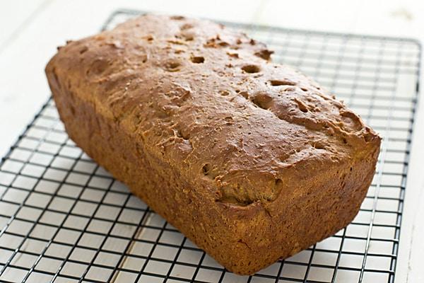 Super Easy No-Knead Whole Wheat Sandwich Bread