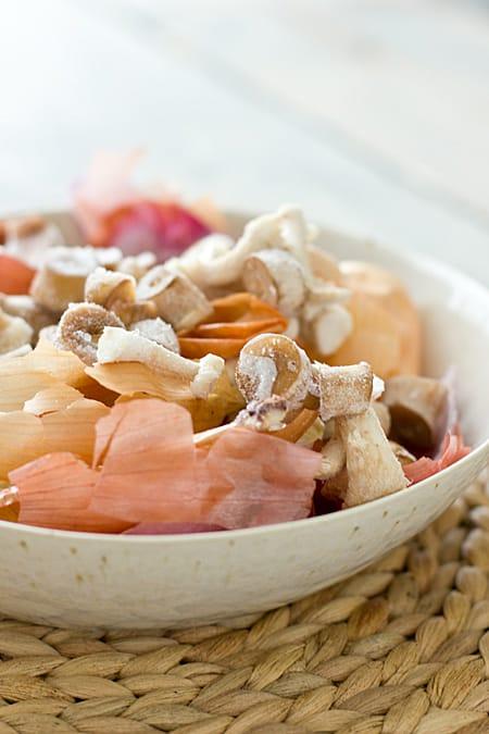 Frozen Mushroom & Veggie Scraps