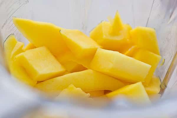 Mango Chunks in Blender