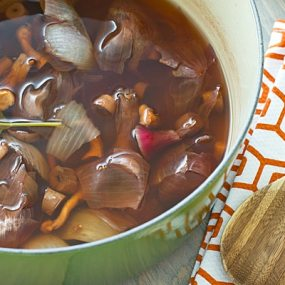 Mushroom Stock from Kitchen Scraps Recipe