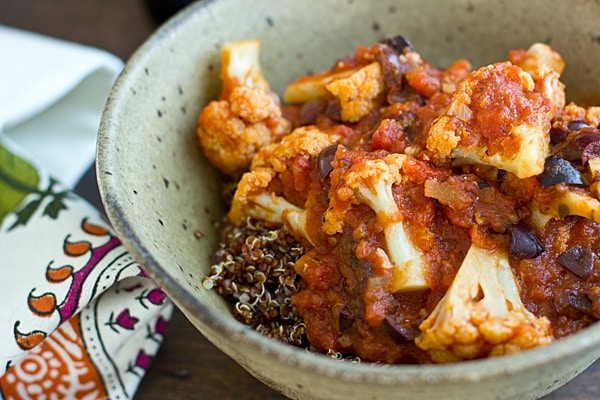 Greek Stewed Cauliflower