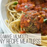 How to Make (Almost) Any Recipe Meatless