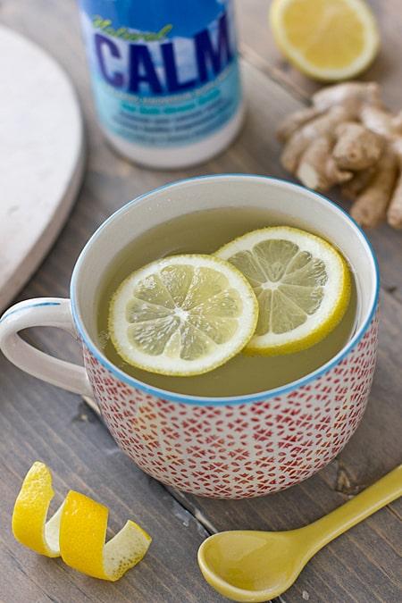 Natural Calm Lemon Ginger Tea