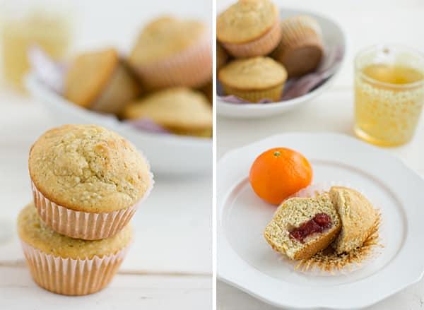 Chia Surprise Muffins