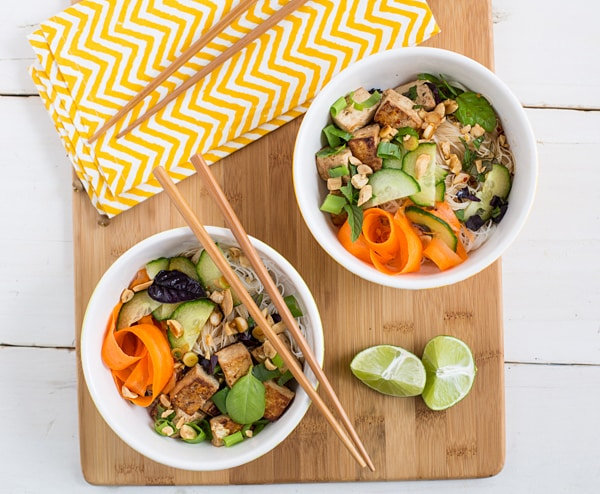 Thai Tofu and Noodle Salad