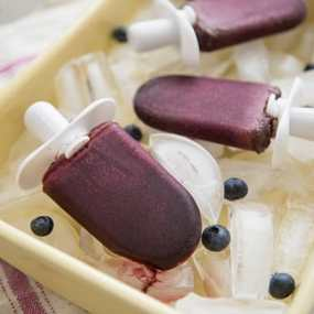 Blueberry Kale Pops Recipe