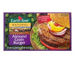 Earth Fare Almond Grain Burger