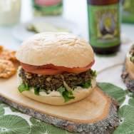 Lentil Mushroom Burger Recipe