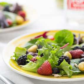 Spring Berry Salad with Lemon Verbena Vinaigrette Recipe