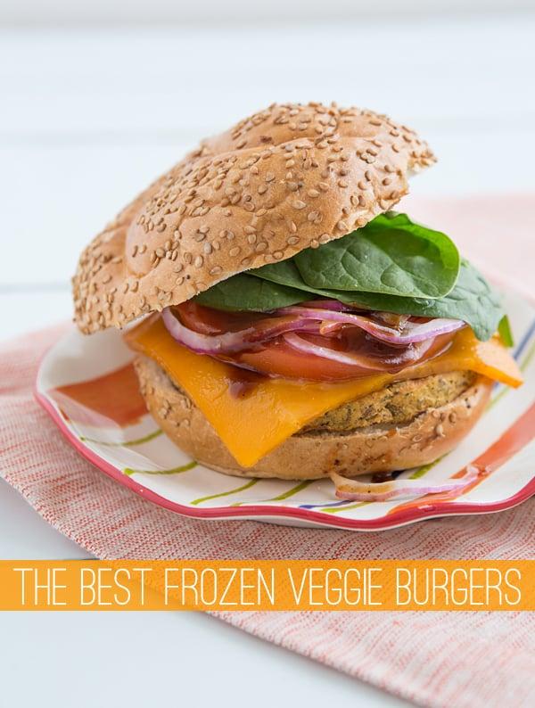 The Best Frozen Veggie Burgers