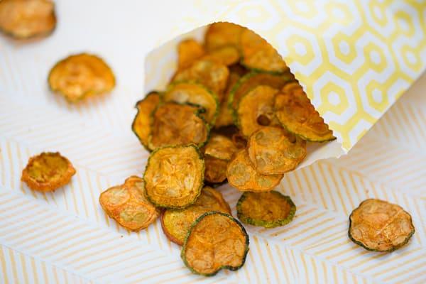 BBQ Squash Chips