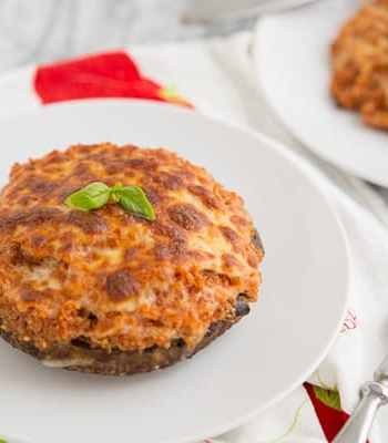 Pizza Quinoa Stuffed Portabella Mushrooms Recipe