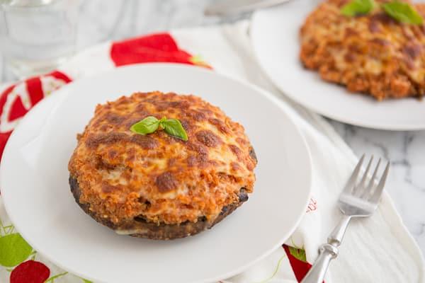 Pizza Quinoa Stuffed Portabella Mushrooms Recipe