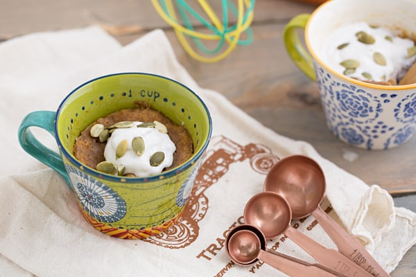 Sweet Potato Mug Cake Recipe