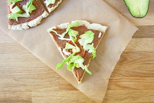 Vegan Gluten-Free Taco Pizza