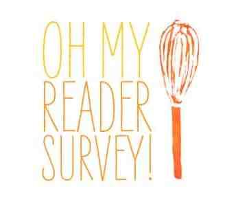 Oh My Veggies Reader Survey