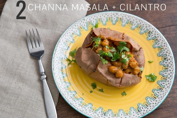 Channa Masala Sweet Potato