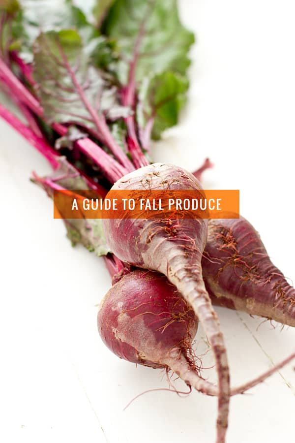 A Guide To Fall Produce