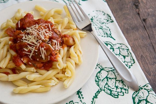 Meaty Mushroom Marinara Sauce Recipe
