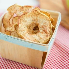 Soft & Chewy Spiced Apple Rings Recipe