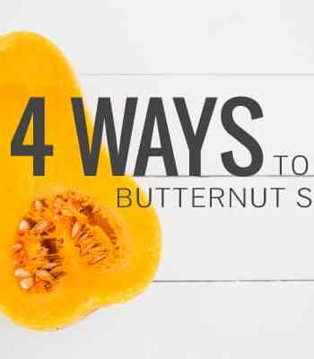 4 Ways to Roast Butternut Squash