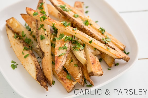 Garlic and Parsley Oven Fries