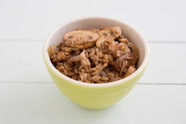 Mushroom and Pine Nut Fried Rice