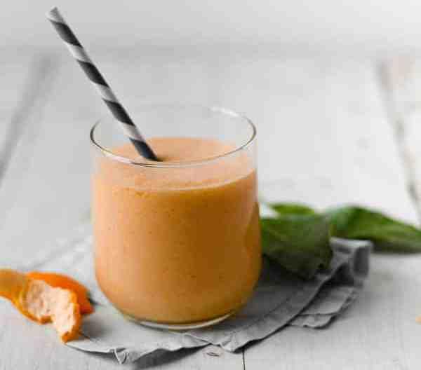 Spicy Mango Mandarin Smoothie Recipe