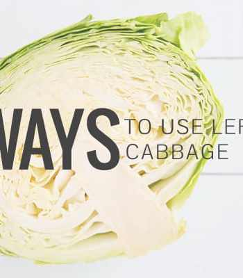 4 Ways to Use Leftover Cabbage