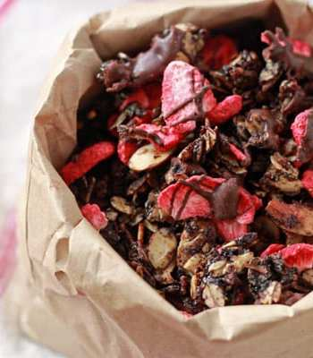 Chocolate Covered Strawberry Granola