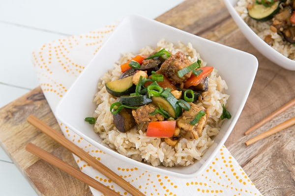 Kung Pao Veggies Recipe