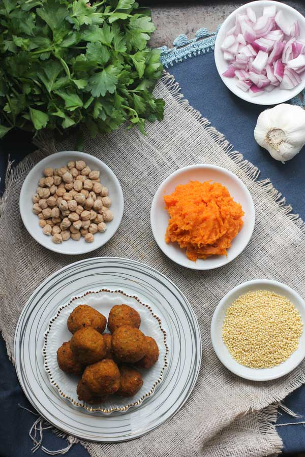 Sweet Potato & Millet Falafel