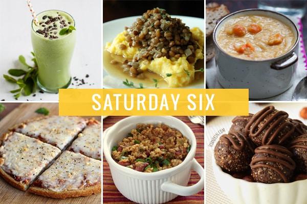 Saturday Six - 03.08.14