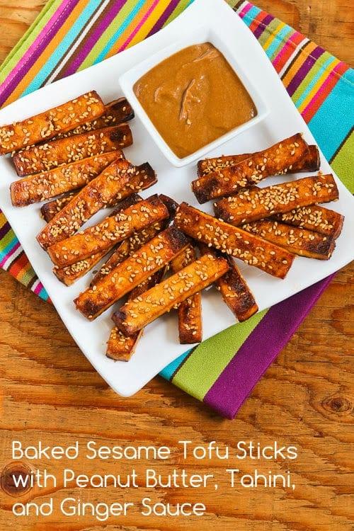 Baked Sesame Tofu Sticks