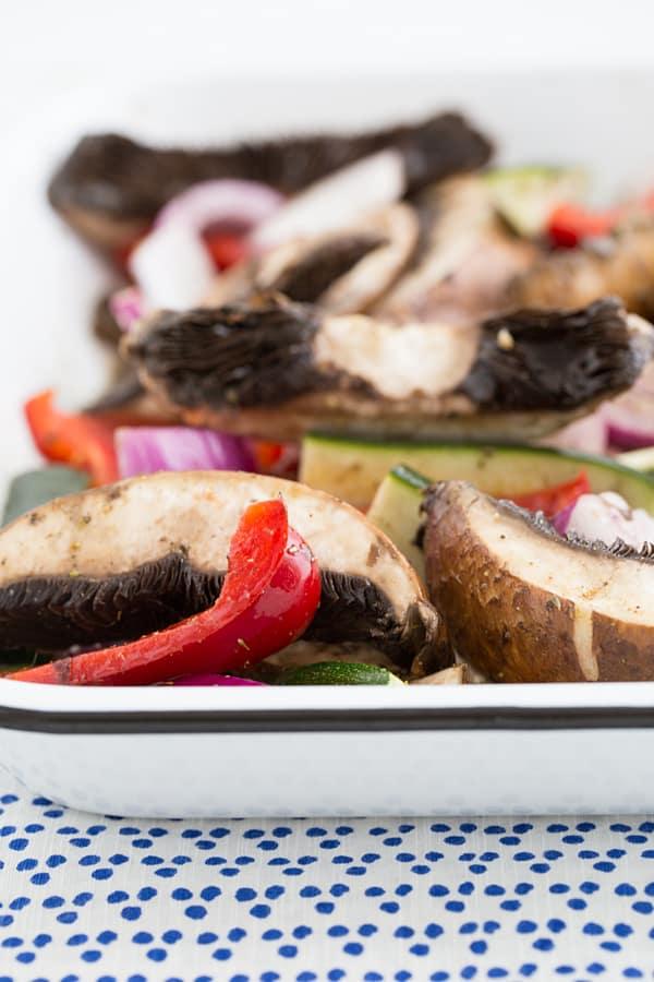 grilled veggie gyros