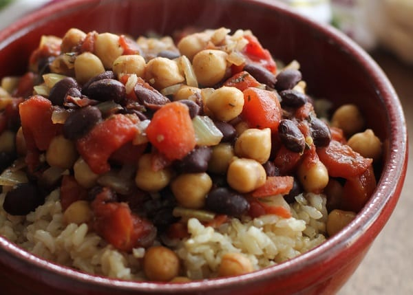 Jamaican Chickpea Stew