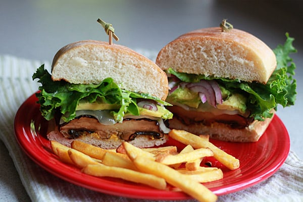 Grilled Portabella Burgers