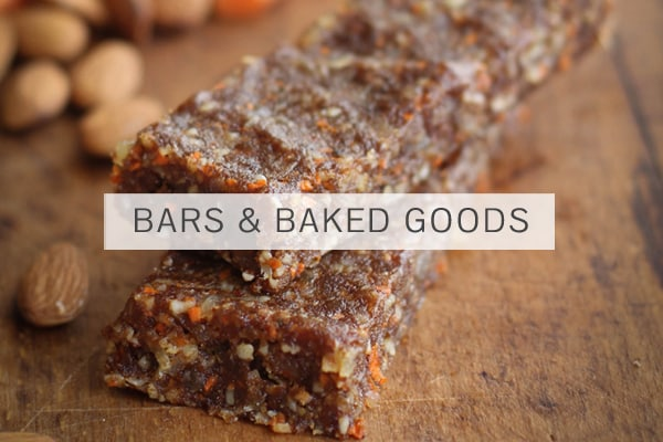Hemp Seeds in Bars & Baked Goods
