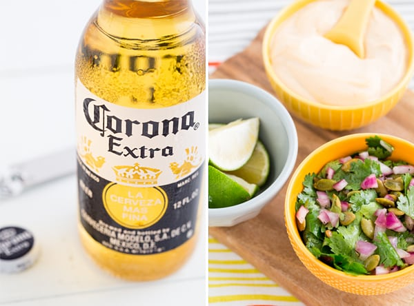 Beer & Taco Toppings