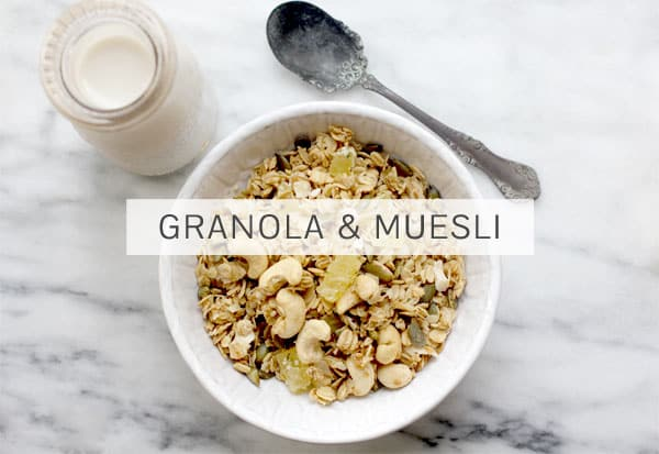 Hemp Seeds in Granola & Muesli