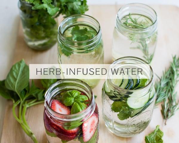 Herb-Infused Water